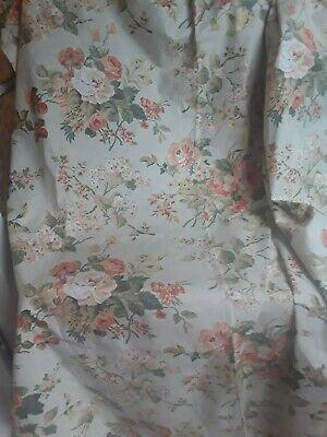 A Pr Vintage Handmade Blackout Lined Cottage Curtains Laura Ashley Gainsborough