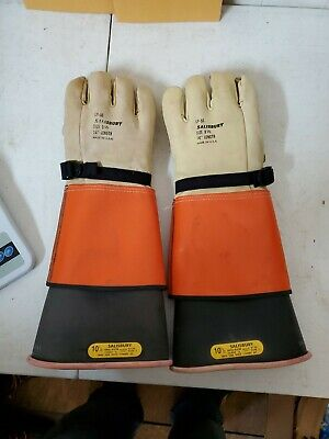 Salisbury Linemen Gloves Size 9.5 14 Length