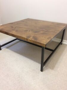Quality Handcrafted Rustic coffee table $300