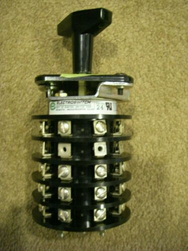Electroswitch 24205ZD Series 24 Rotary Switch