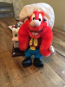 Looney Tunes Yosemite Sam Warner Brothers Plush 1994