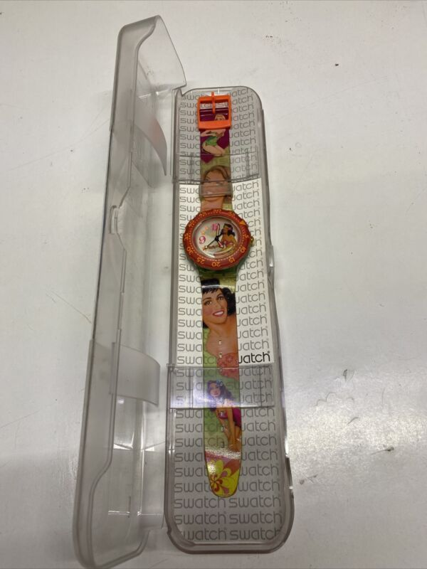 Vintage Swatch Watch Pin Up Girl
