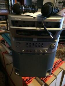 KARAOKE MACHINE DUAL CASSETTE  WITH MICROPHONES Seville Grove Armadale Area Preview