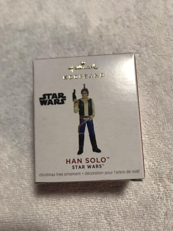 Hallmark Keepsake 2021 Star Wars Han Solo Miniature Ornament