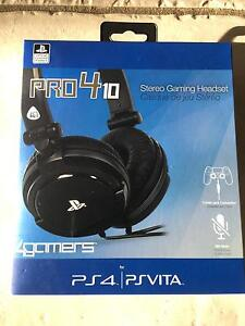 ps4 pro 410 gaming headset Collingwood Park Ipswich City Preview