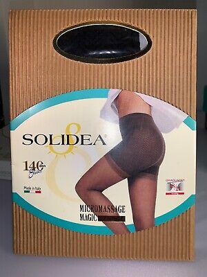 Solides Micromassage Magic 18/22 mmhg pantyhose 140 Nero size 02-M NIB (sale)  - Micro Massage Magic