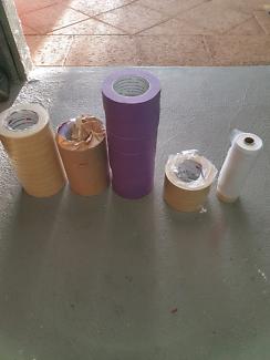 Masking tape 3m purple 50 mm ,3m 18mm