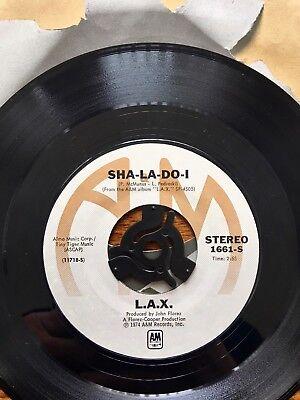 L.A.X. : I BETCHA / / SHA- LA -DO- I FUNK SOUL RARE 7''. EX COND