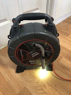 Ridgid Seesnake Micro Drain Color Sewer Camera 75 Ft