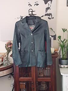 Vintage Oasis Leather Jacket Size 10 Eden Hill Bassendean Area Preview