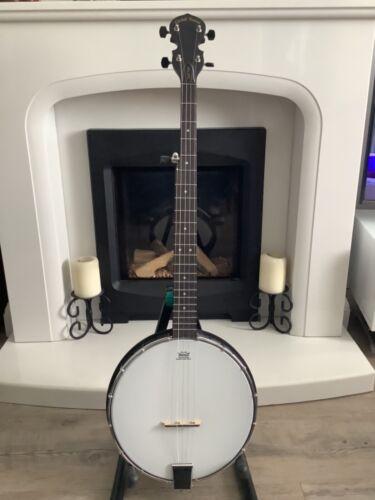 Gold tone AC1 composite acoustic 5 string open back banjo with gig bag