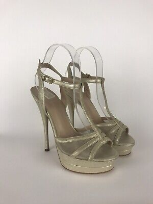 versace Women's heels Gold Sandals Size 38