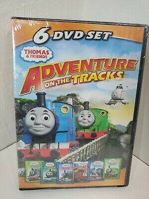 Thomas Friends: Adventures on the Tracks (DVD, 2011, 6-Disc Set) BRAND NEW L@@K