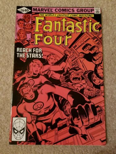 """THE FANTASTIC FOUR #220 (Marvel Comics 1980) 4 Stan Lee """"Reach for the Stars"""""""