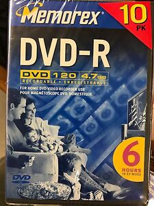 20 Burnable DVDS with cases