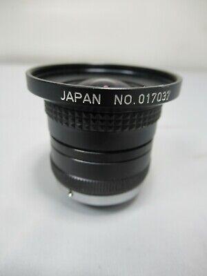 Rainbow H3.5mm 11.6 Cctv Zoom Lens Japan 1608l