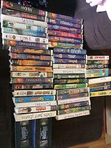 Disney movies!! Over 100