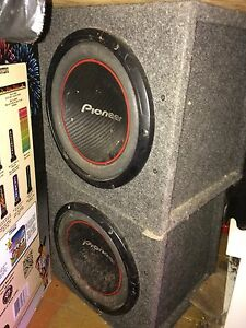 Pioneer subs ,amp $400 or best offer