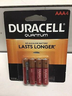 Duracell Quantum AAA4 Batteries, Best Use By mar 2027. Free