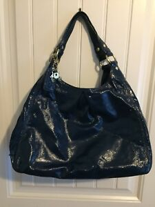 Large Patent Leather Coach Purse