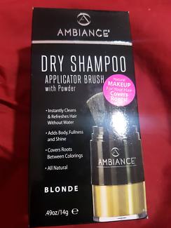 Dry blonde shampoo