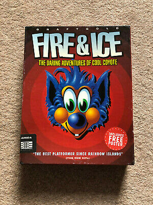 Commodore Amiga Game - Fire and Ice / Fire & Ice