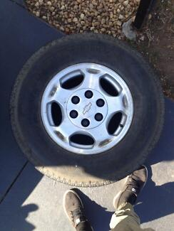 Chevy Silverado good tyres!