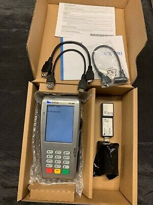 Verifone Vx680 Wireless Credit Card M268-793-c6-usa-3 Cbl268-003-01-b Vx-uart