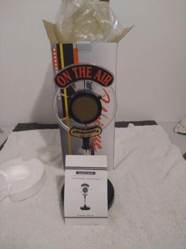 "NIB Vintage AM FM novelty Microphone radio ""On The Air"" Model OTA-70"