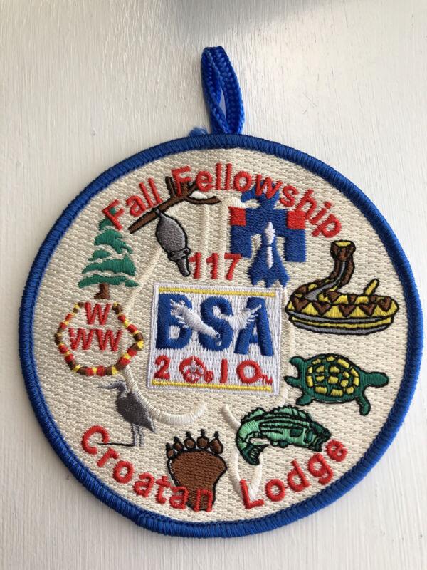 OA (BSA) Croatan Lodge #117 - 2010 Fall Fellowship Patch