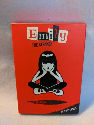 Emily the Strange 30-Postcard Set in box (missing 2)
