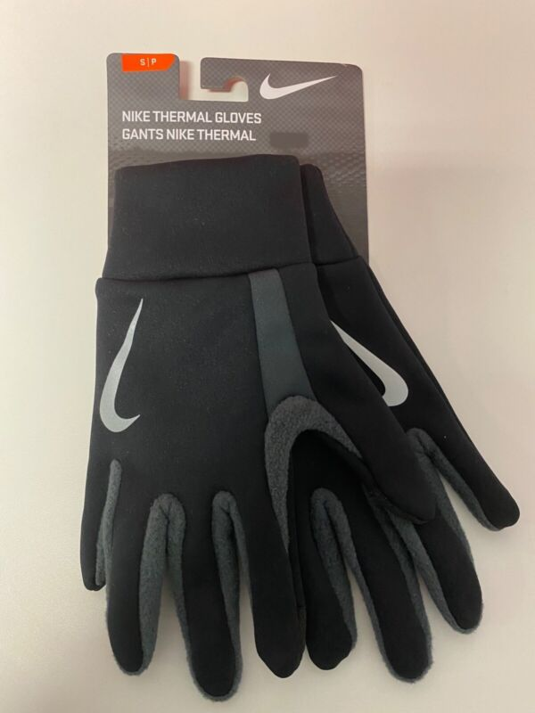 nike thermal gloves size small