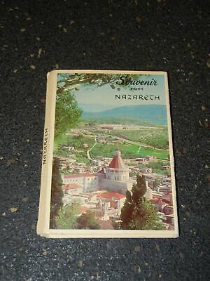 Vintage Souvenir Photo Book  Souvenir from Nazareth