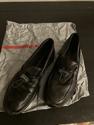 Prada Vintage Driving Slip On Toggle Loafer Women's US Size 8
