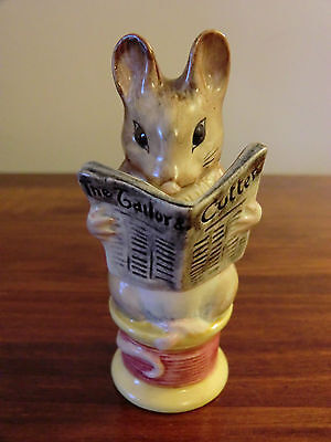 "BESWICK BEATRIX POTTER ""TAILOR OF GLOUCESTER"" BP-2 GOLD BACKSTAMP"