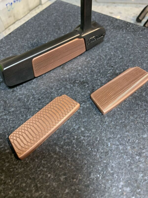 CNC Milled FACE INSERT ONLY! (Copper)fits SC Select Putters & Concept X