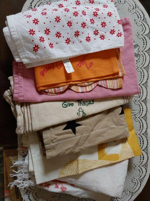 Lot Of Dish Towels