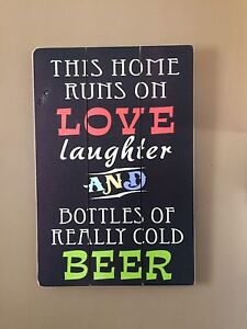 Love laughter beer
