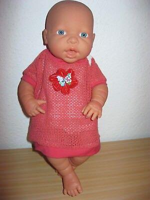 Kleid Schmetterling für Baby Born, ChouChou , Krümel 43 cm (Rotes Kleid Für Baby)