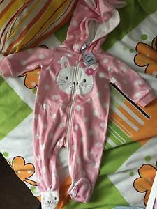 Tiny little wonders girl romper size 00 3-6 months Banyo Brisbane North East Preview