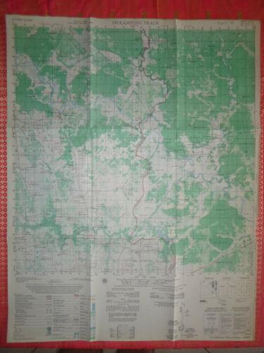 6131 i - FORBIDDEN FOREST - MAP - 1968 HCM TRAIL - Vietnam War - KAMPONG TRACH