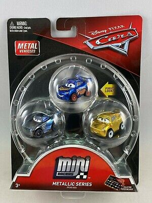 Disney Pixar Cars Mini Racers - Metallic Series