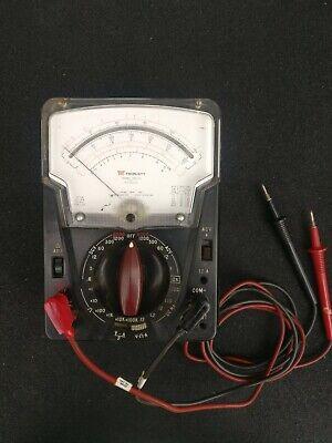 Triplett Model 630-na Type 3 Multimeter