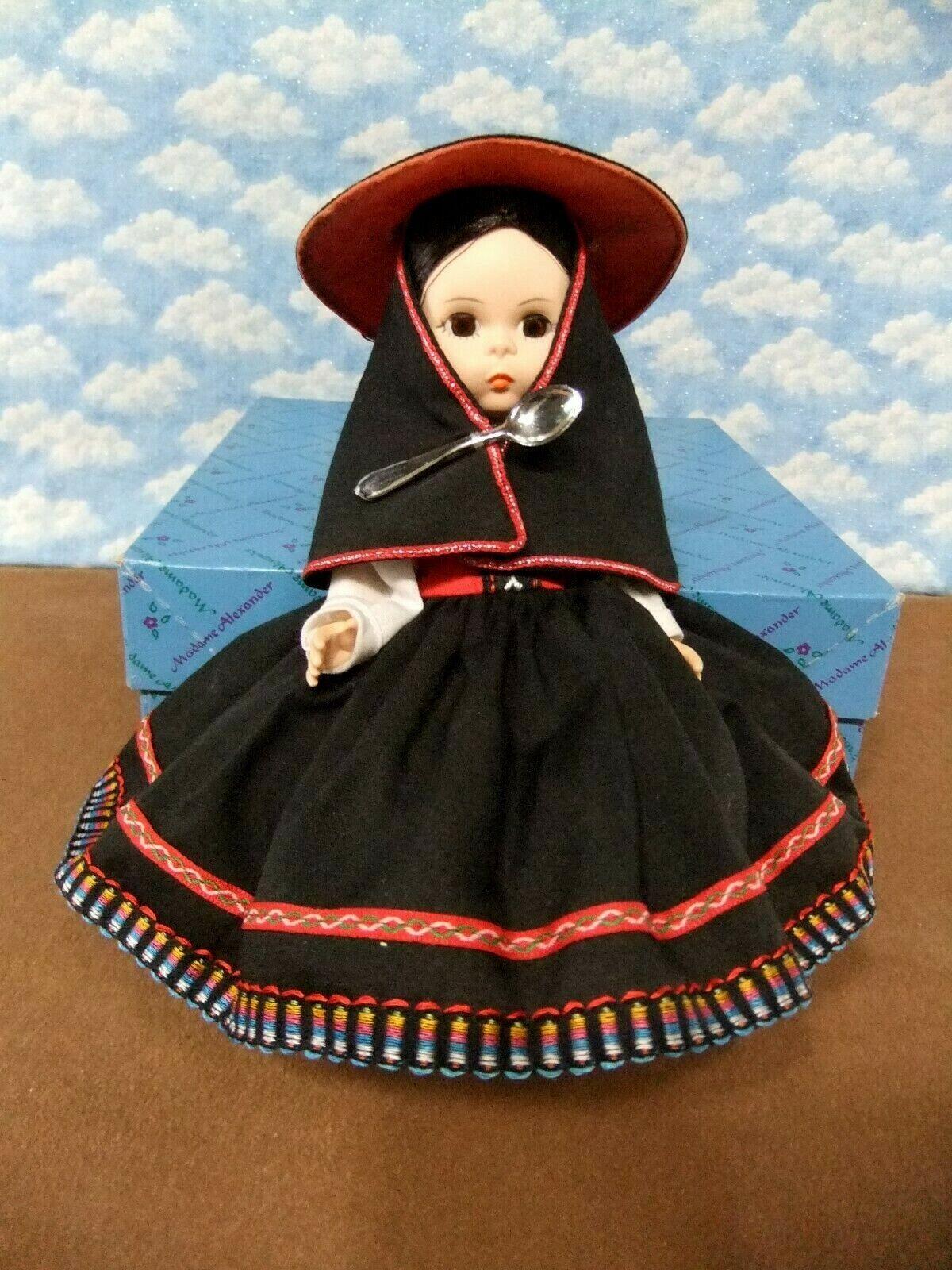 Madame Alexander 8 PERU 556 Mint-Restrung-W/box /tag - $13.99