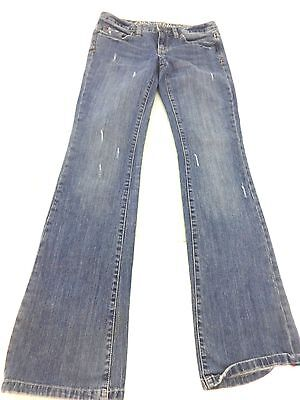 CONVERSE ONE STAR LOW RISE BOOT CUT MED WASH JEANS SIZE 26