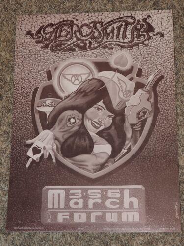 AEROSMITH  Los Angeles March 1990 Concert Poster Original