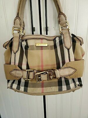 Burberry handbag authentic used. Still gorgeous!