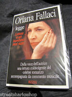 4 Audio Cassette Libro Oriana Fallaci Legge Lettera A Un Bambino Mai Nato 1993 -  - ebay.it
