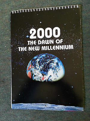 Dawn of an era millennium Imperial tobacco calendar good condition