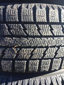 p185/65/14 inch Toyo Winter Tires / LOTS OF TREAD / GOOD DEAL